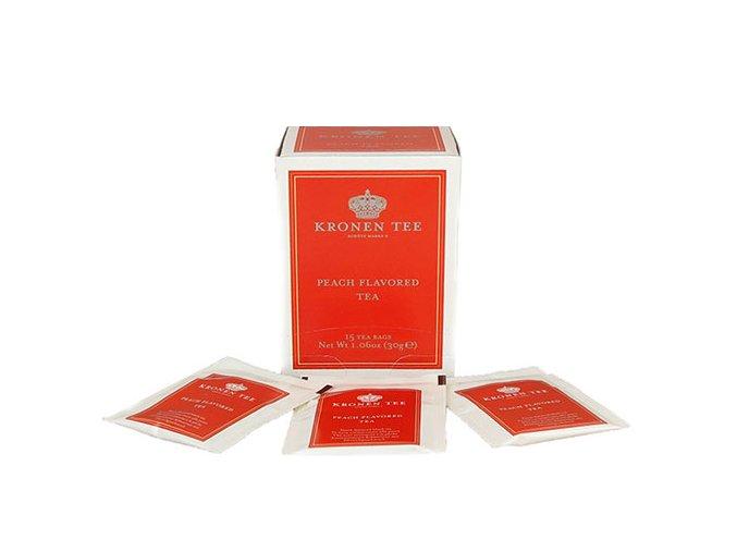 Kronen Tee Peach Flavored Tea