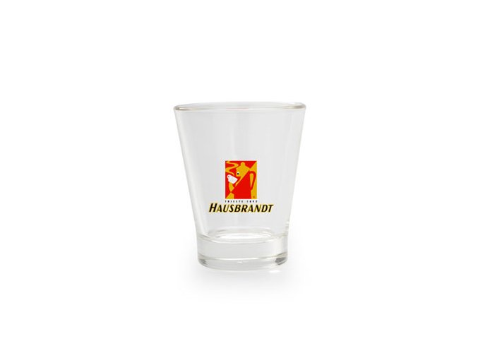 Hausbrandt sklenička